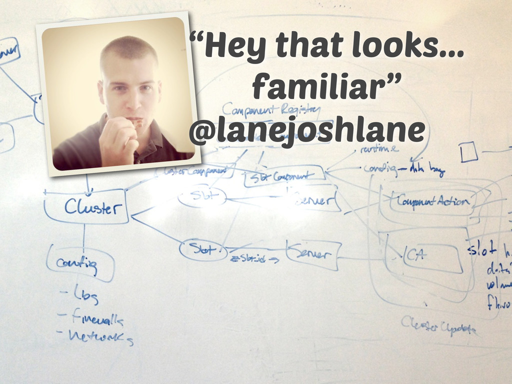 "@lanejoshlane ""Hey that looks... familiar"""
