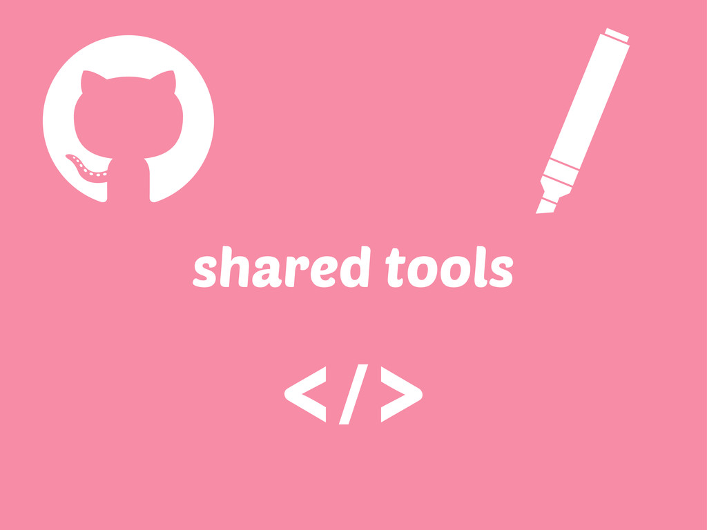 shared tools