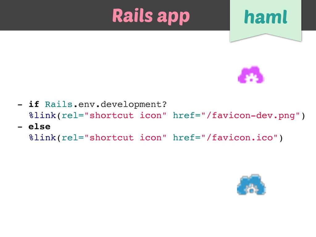"- if Rails.env.development? %link(rel=""shortcut..."