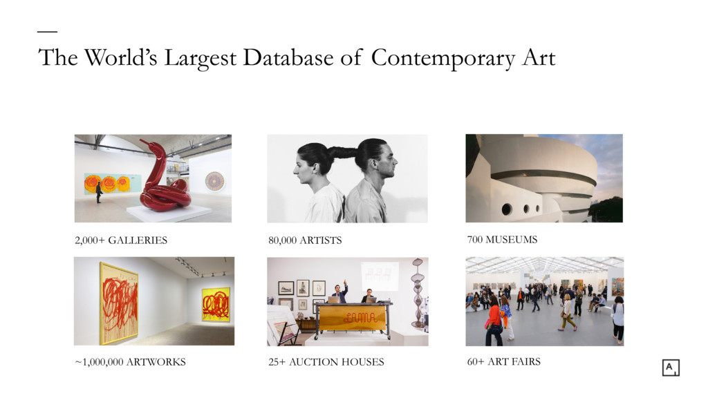 The World's Largest Database of Contemporary Ar...