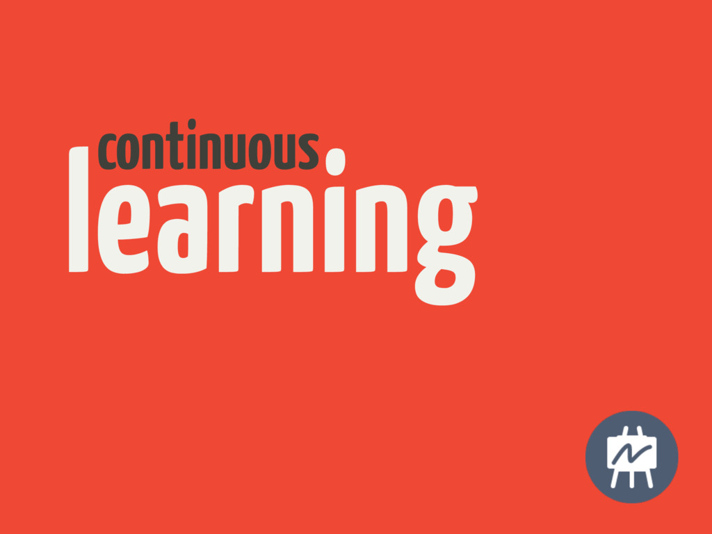 learning continuous