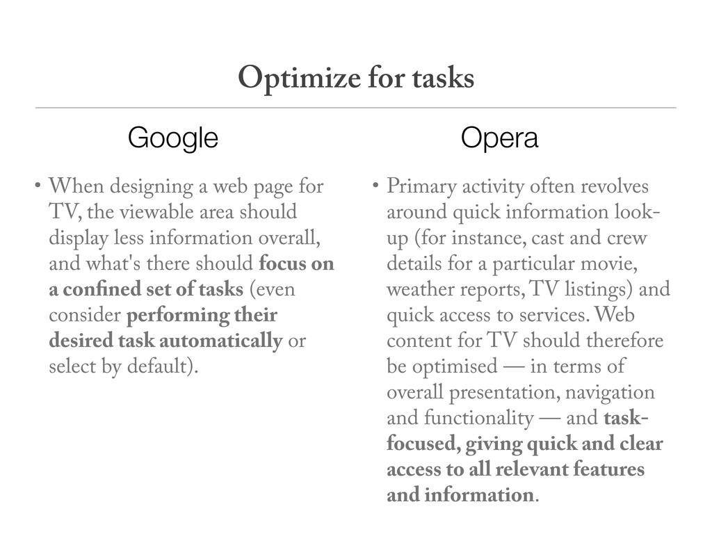 • When designing a web page for TV, the viewabl...