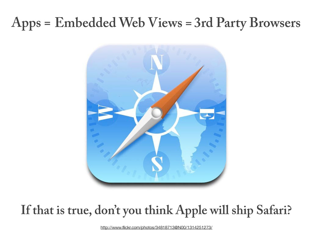 Apps = If that is true, don't you think Apple w...