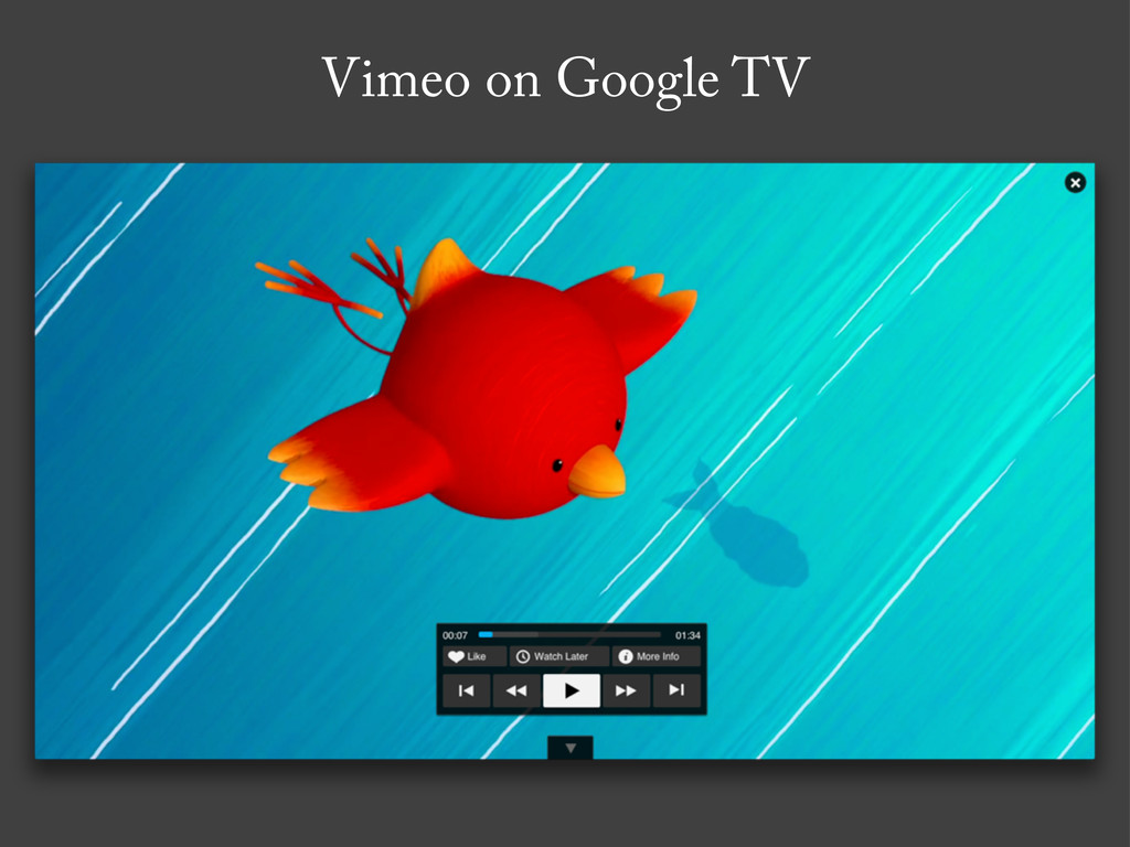 Vimeo on Google TV