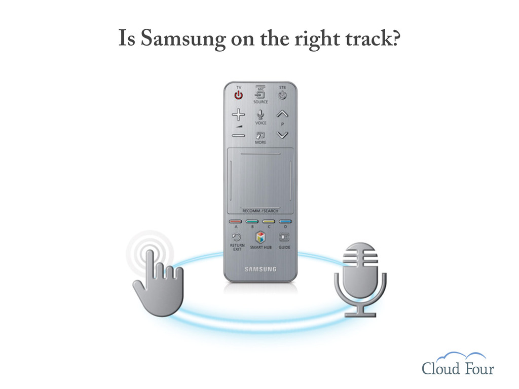 Is Samsung on the right track?