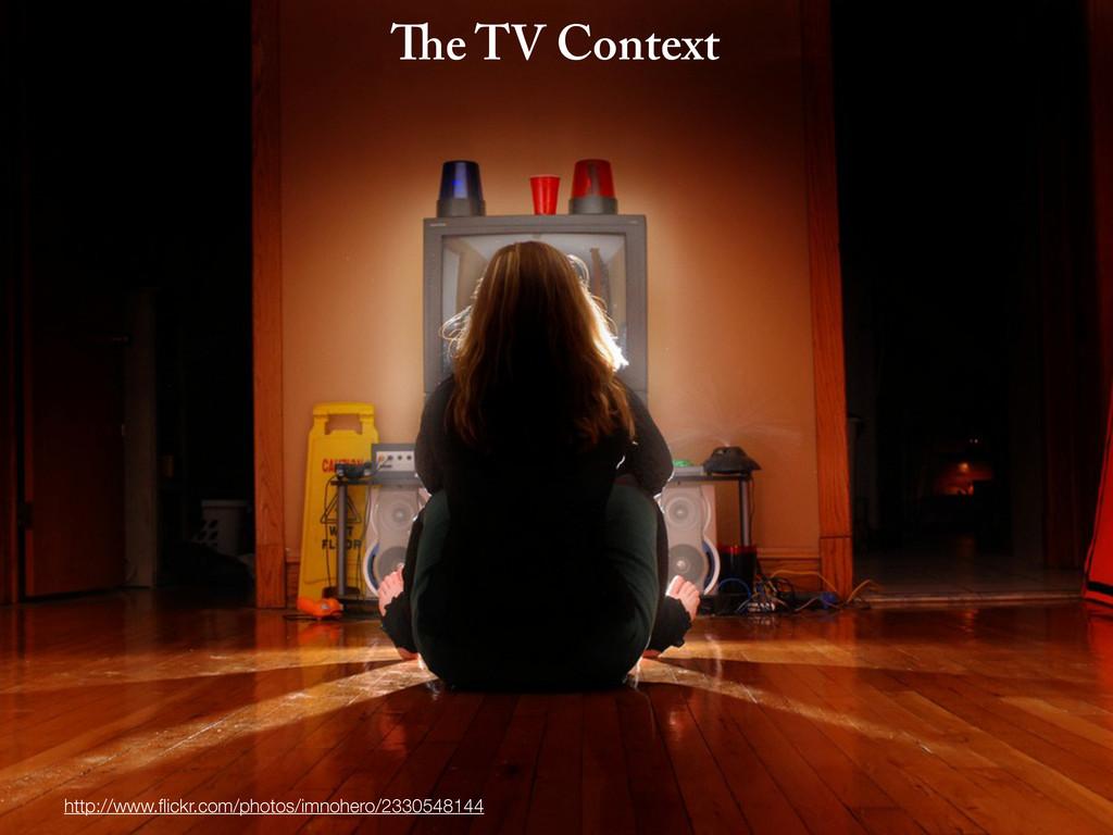 e TV Context http://www.flickr.com/photos/imnohe...