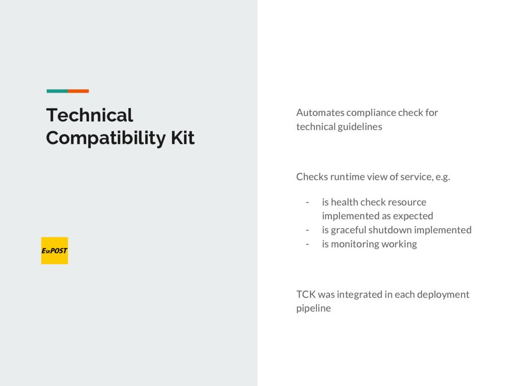Technical Compatibility Kit Automates complianc...