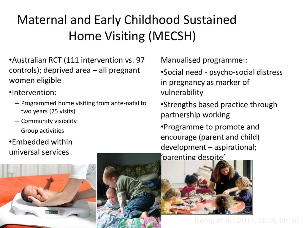 Maternal and Early Childhood Sustained Home Vis...