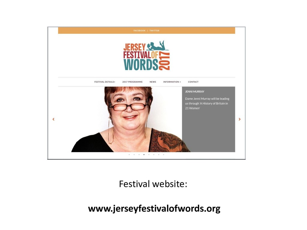 Festival website: www.jerseyfestivalofwords.org