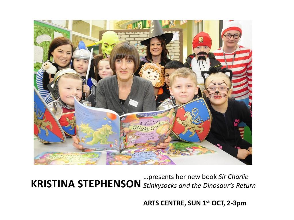 KRISTINA STEPHENSON …presents her new book Sir ...