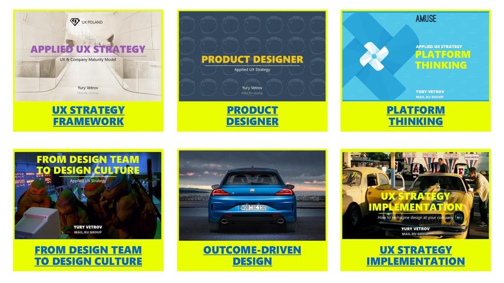 PRODUCT DESIGNER UX STRATEGY FRAMEWORK PLATFORM...