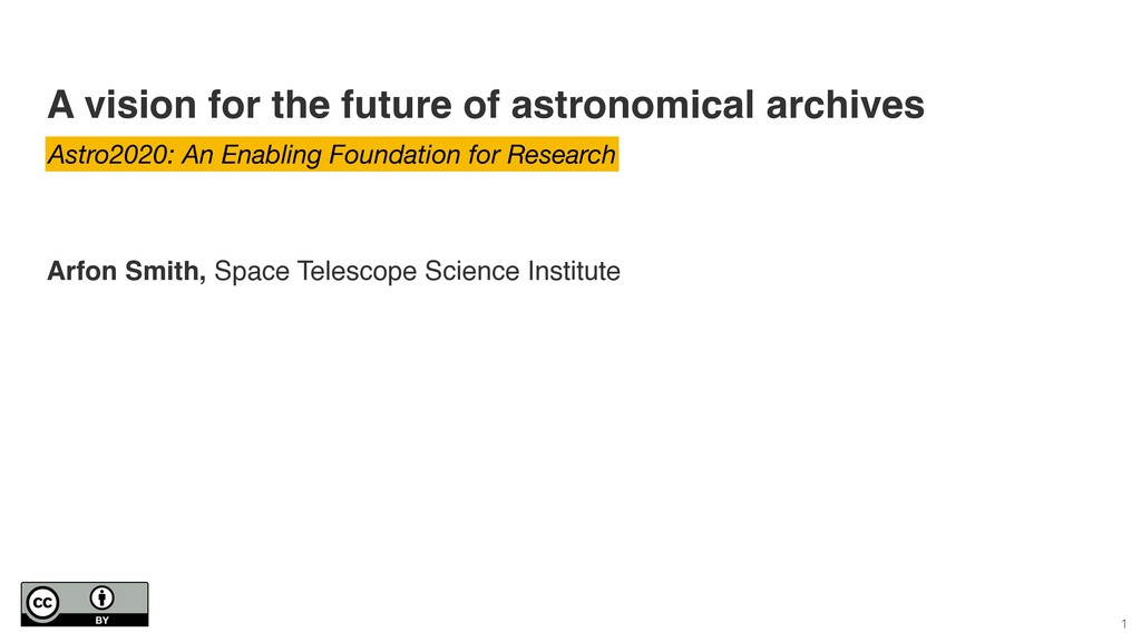 A vision for the future of astronomical archive...