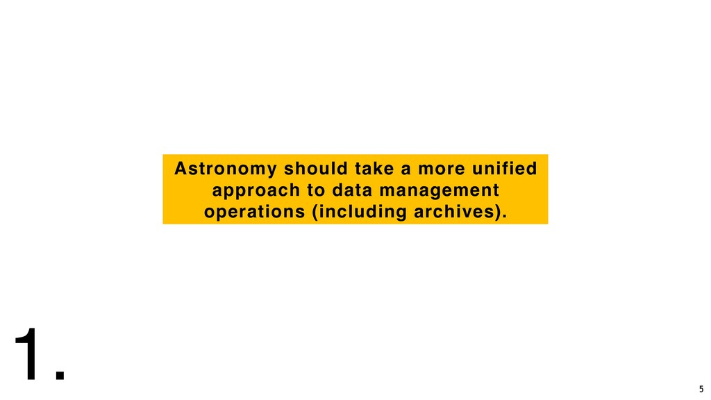Astronomy should take a more unified approach t...