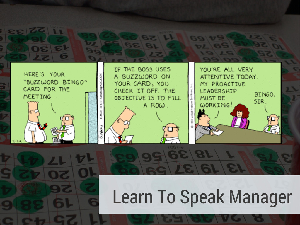 Learn To Speak Manager