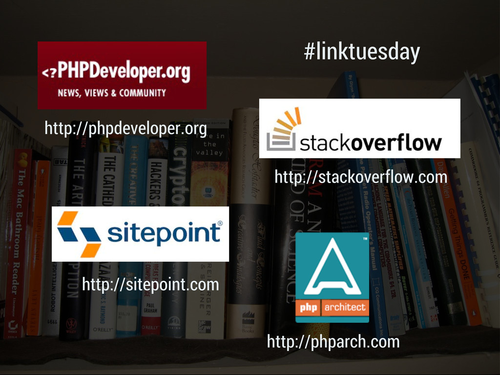 #linktuesday http://phpdeveloper.org http://php...