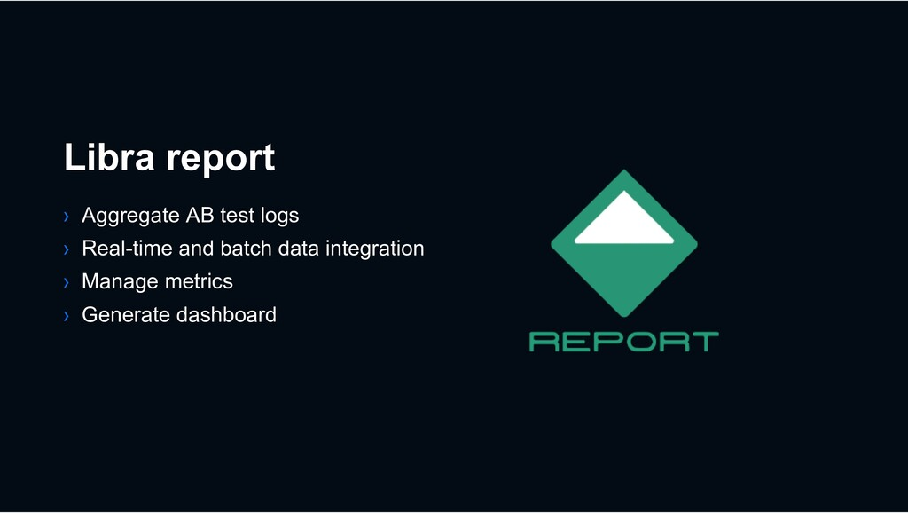 Libra report › Aggregate AB test logs › Real-ti...