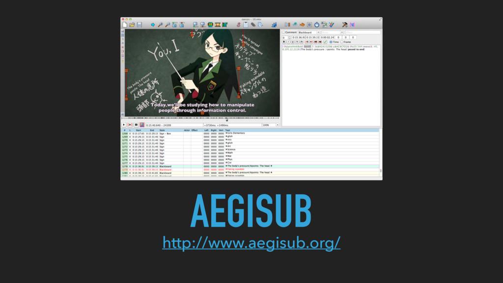AEGISUB http://www.aegisub.org/