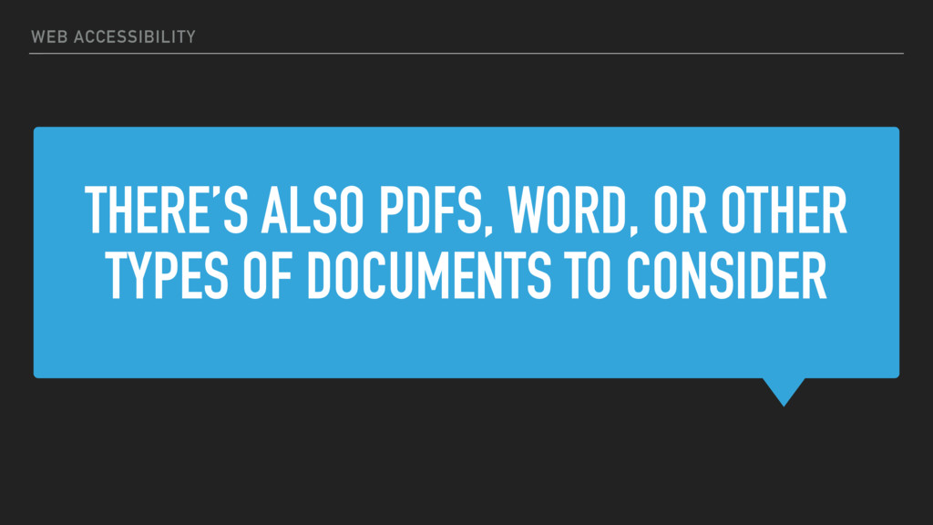 THERE'S ALSO PDFS, WORD, OR OTHER TYPES OF DOCU...