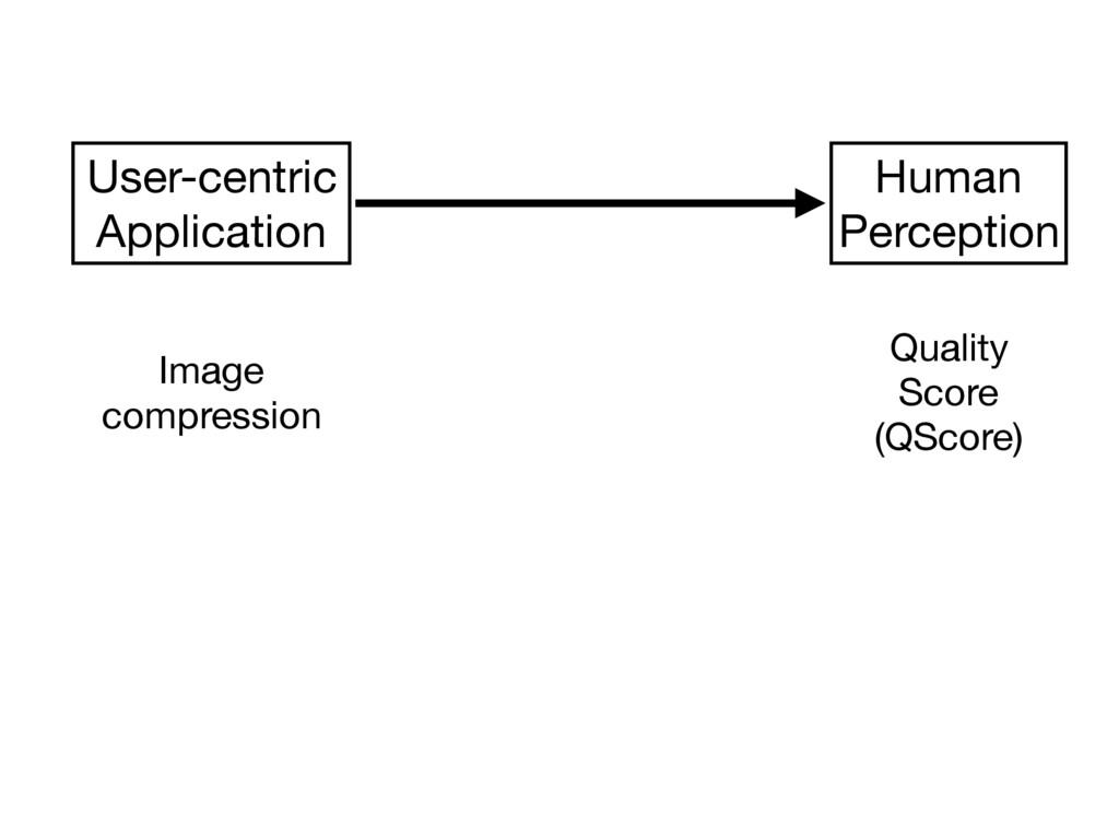 Quality  Score  (QScore) Human  Perception User...