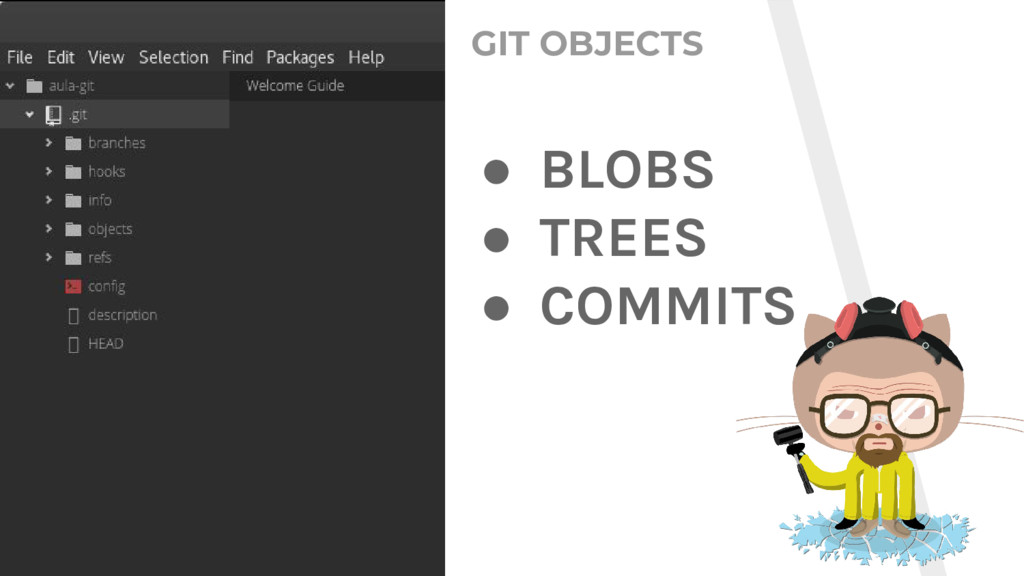 GIT OBJECTS ● BLOBS ● TREES ● COMMITS