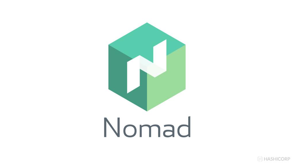 Nomad HASHICORP