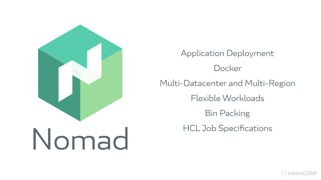 Nomad HASHICORP Application Deployment Docker M...