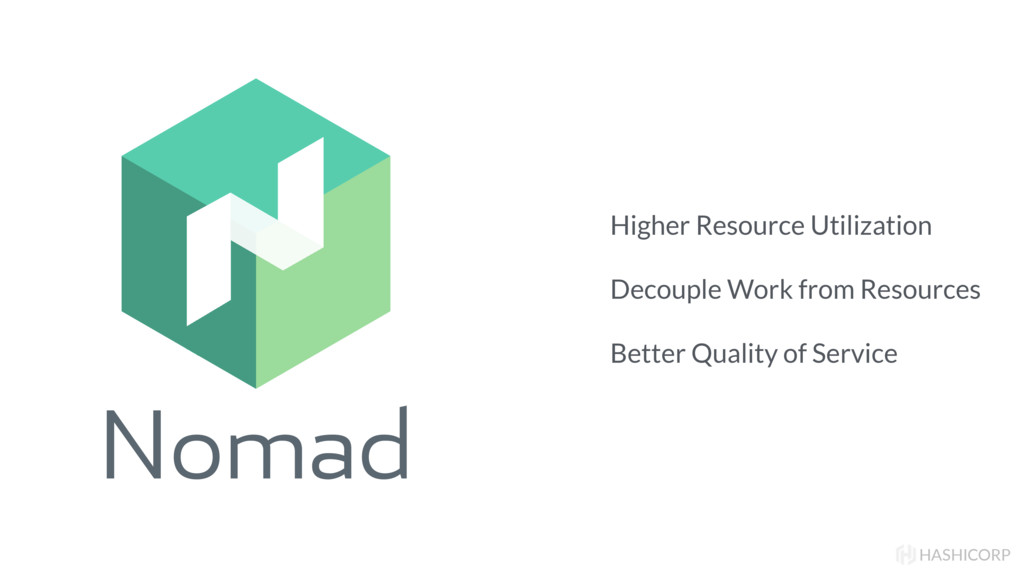 Nomad HASHICORP Higher Resource Utilization Dec...