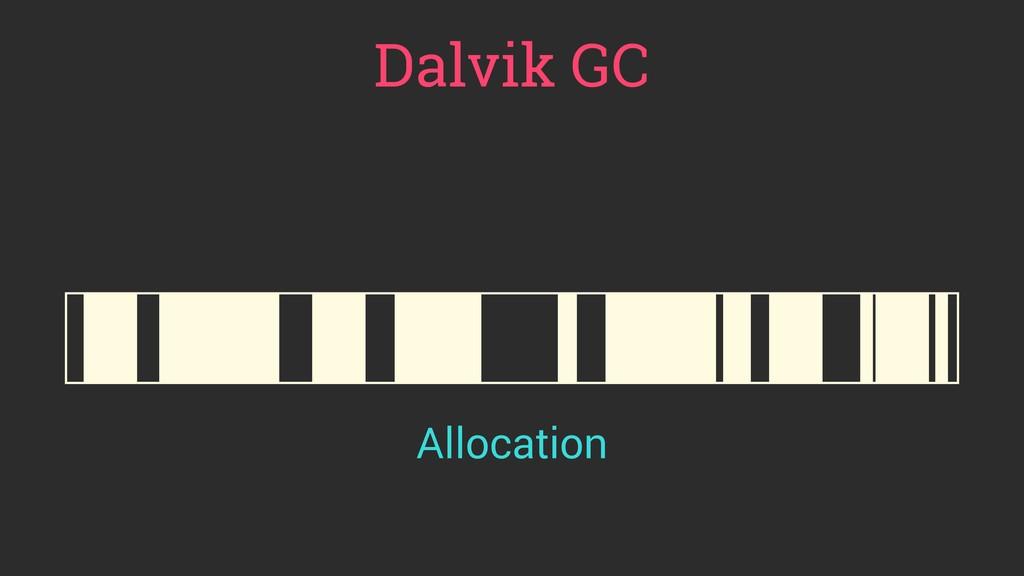 Dalvik GC Allocation
