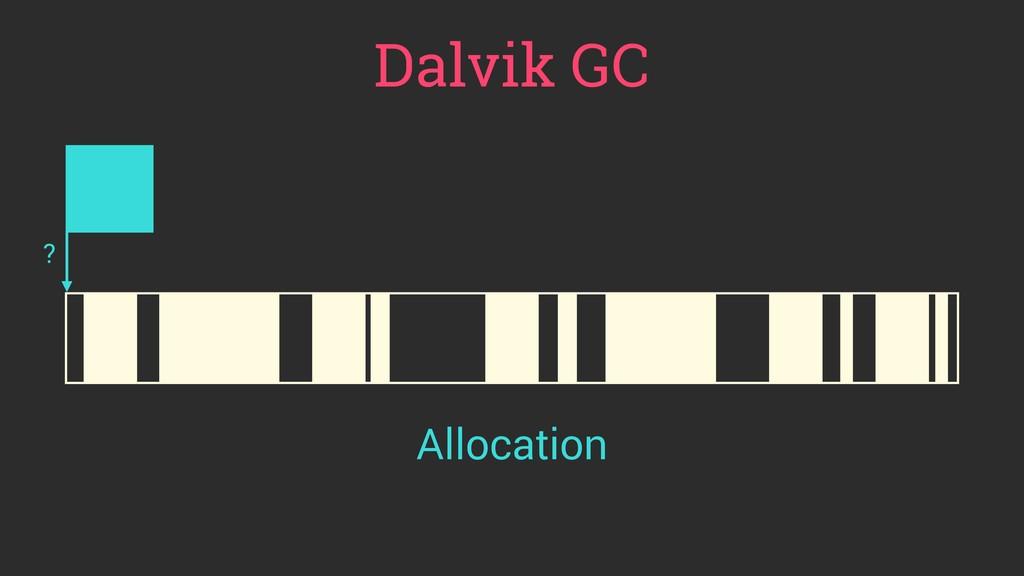 Allocation Dalvik GC ?