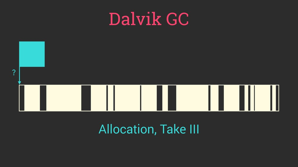 Dalvik GC ? Allocation, Take III