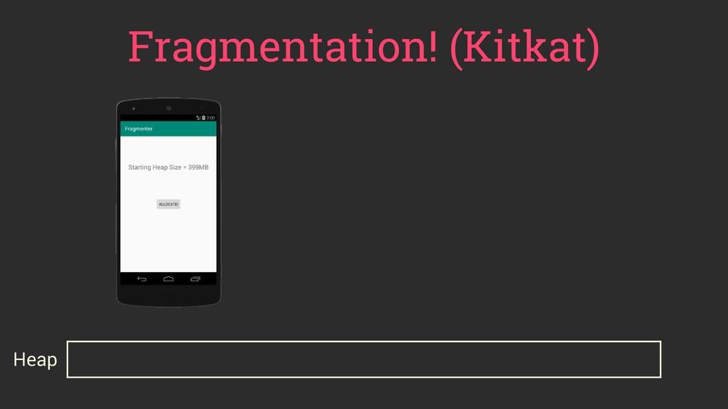 Fragmentation! (Kitkat) Heap