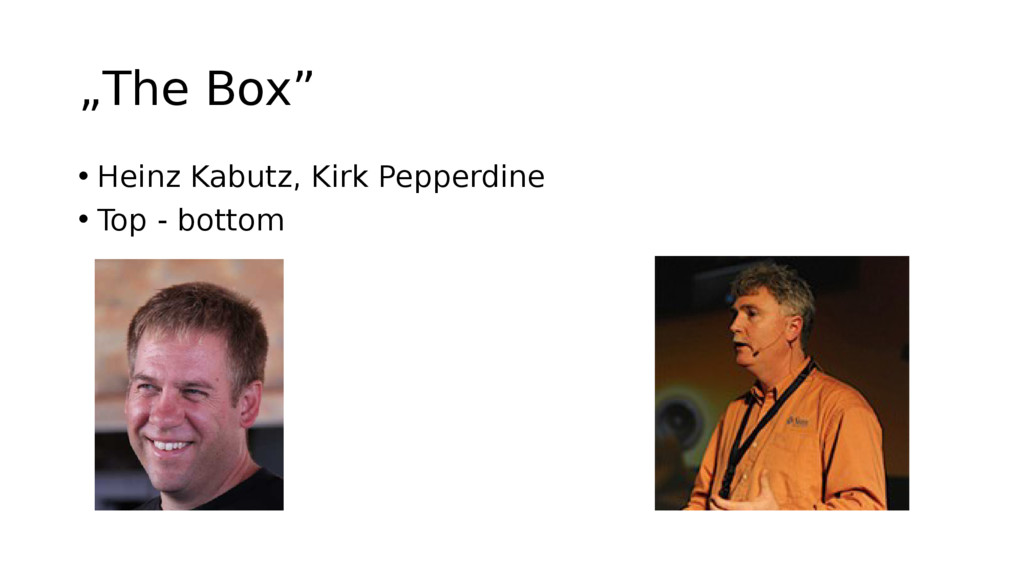 """The Box"" • Heinz Kabutz, Kirk Pepperdine • Top..."