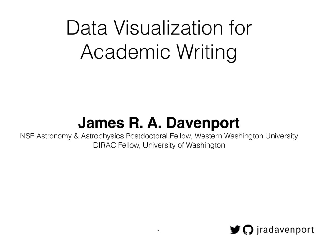 Data Visualization for Academic Writing James R...