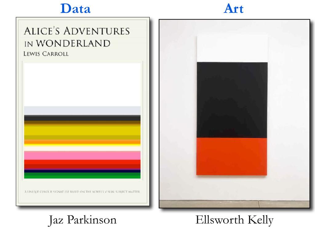 Ellsworth Kelly Jaz Parkinson Data Art