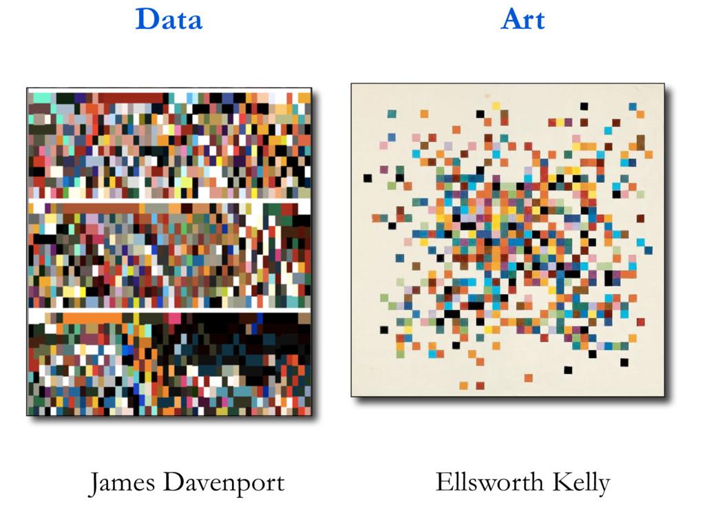 Ellsworth Kelly Data Art James Davenport