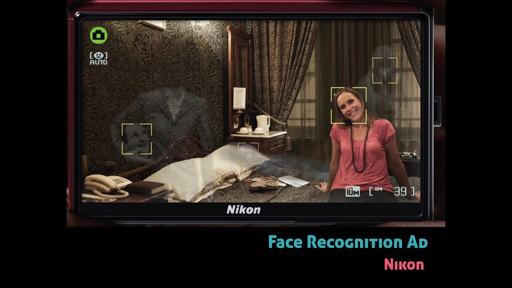 Face Recognition Ad Nikon