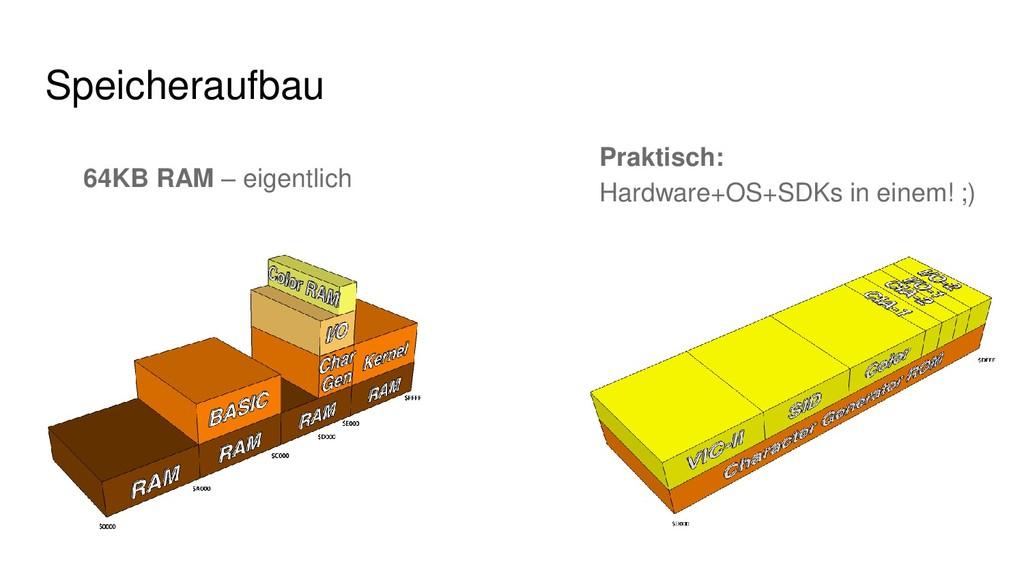 64KB RAM – eigentlich Speicheraufbau Praktisch:...