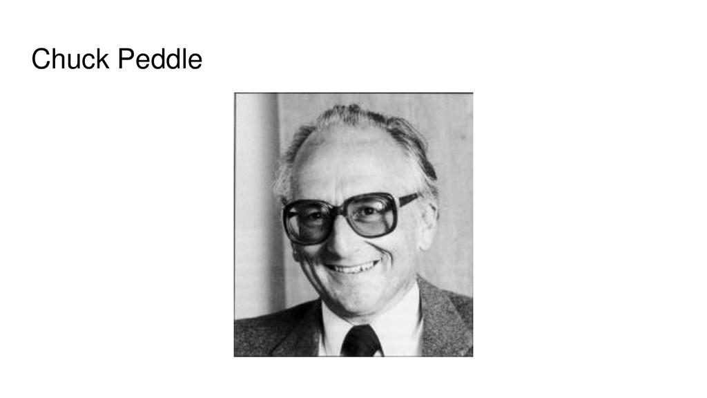 Chuck Peddle