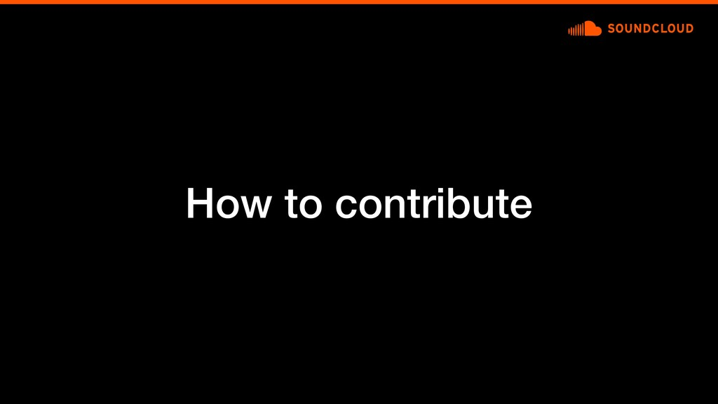How to contribute