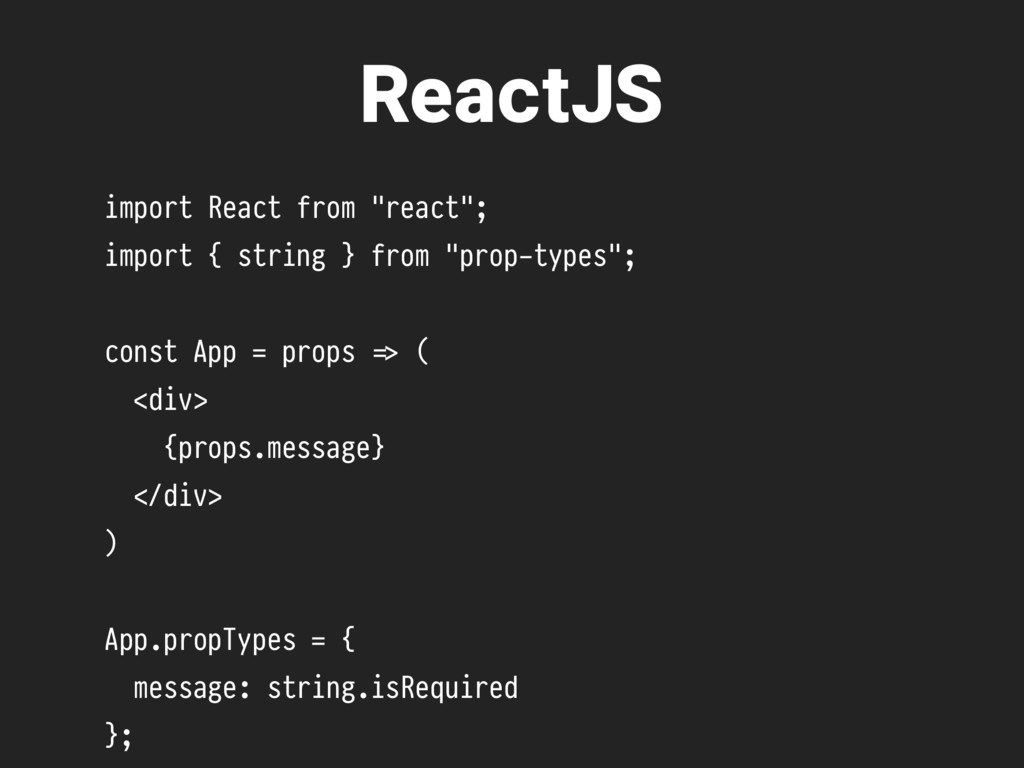 "ReactJS import React from ""react""; import { str..."