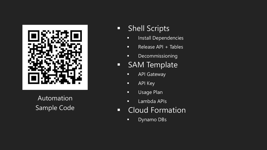 Automation Sample Code ▪ Shell Scripts ▪ Instal...