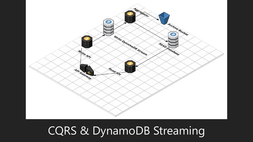 CQRS & DynamoDB Streaming