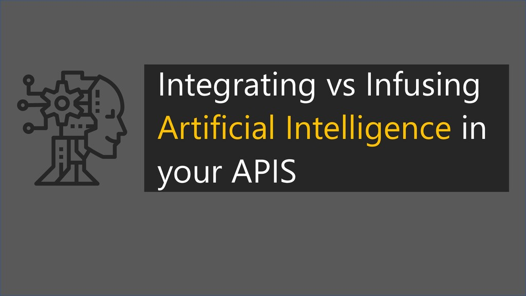 Integrating vs Infusing Artificial Intelligence...