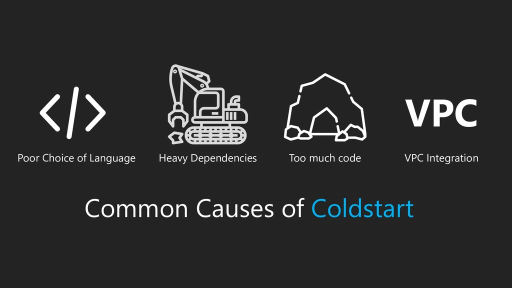 Common Causes of Coldstart Poor Choice of Langu...
