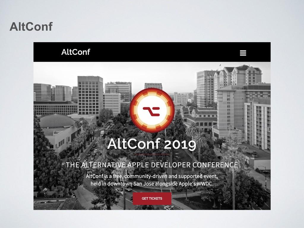 AltConf