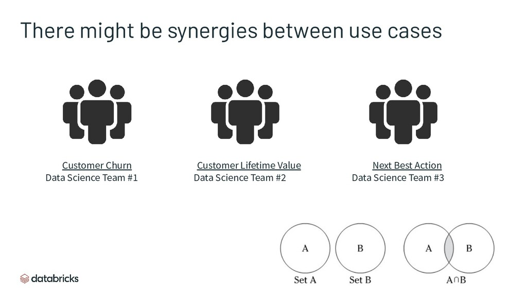 There might be synergies between use cases D2C ...