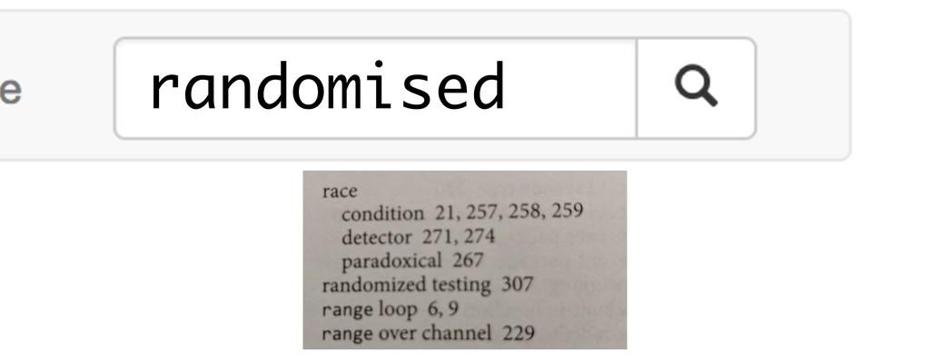 randomised