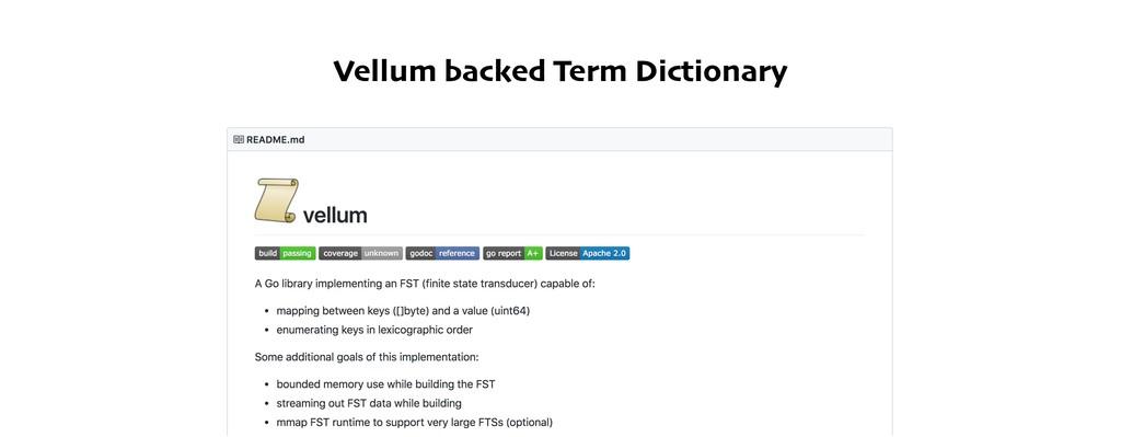 Vellum backed Term Dictionary