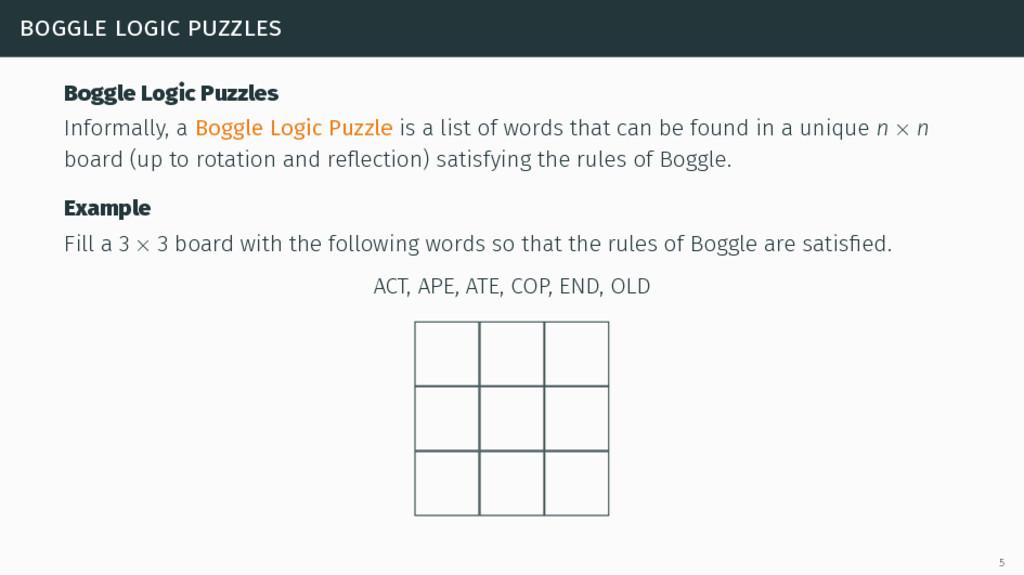 boggle logic puzzles Boggle Logic Puzzles Infor...