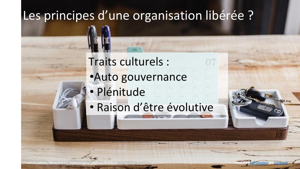 Les principes d'une organisation libérée ? Trai...